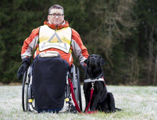 Pridobitev psa pomočnika za gibalno ovirane osebe